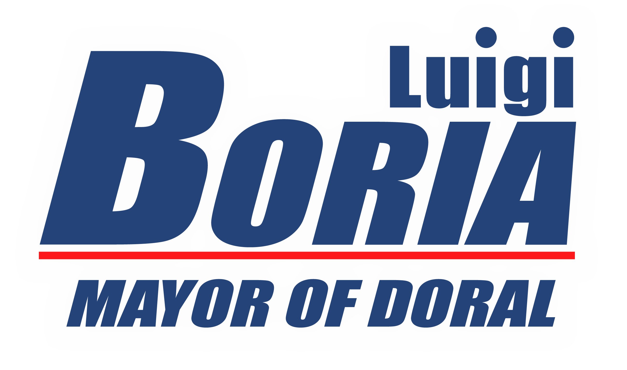 Luigi Boria Mayor of Doral Logo